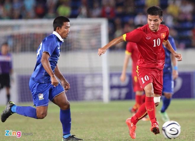 HLV Hoang Anh Tuan: 'U19 Thai Lan thang nho hon ve ban linh' hinh anh 1