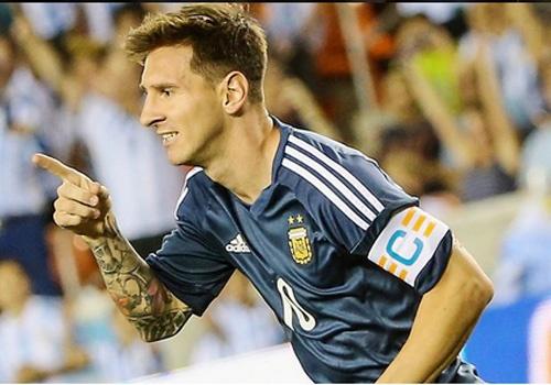Man trinh dien cua Messi trong chien thang 7-0 cua Argentina hinh anh