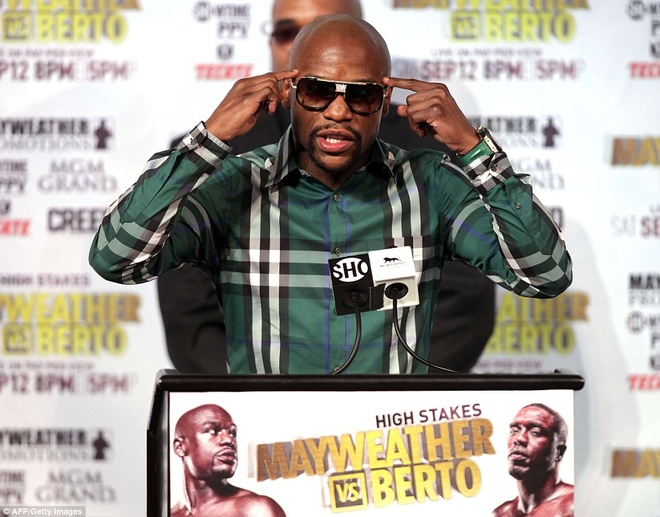 Mayweather manh mieng truoc tran cuoi cung trong su nghiep hinh anh 2