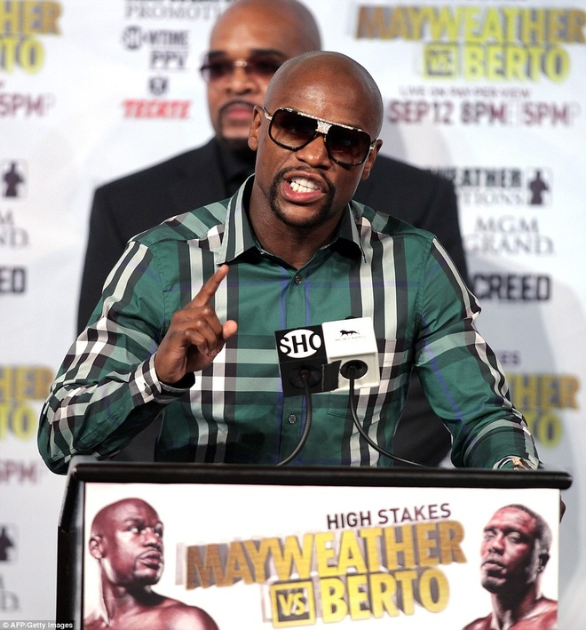 Mayweather manh mieng truoc tran cuoi cung trong su nghiep hinh anh 4