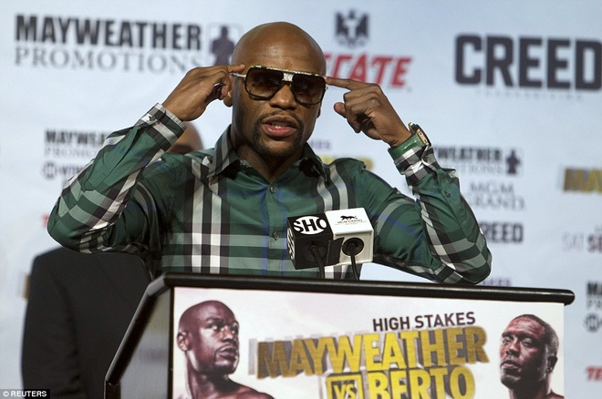 Mayweather manh mieng truoc tran cuoi cung trong su nghiep hinh anh 5