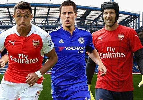 Doi hinh 11 ngoi sao ket hop Chelsea - Arsenal hinh anh