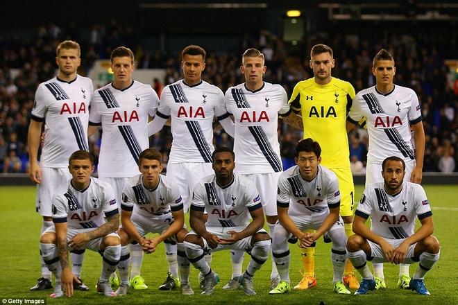 Cau thu dat nhat chau A toa sang trong mau ao Tottenham hinh anh 1