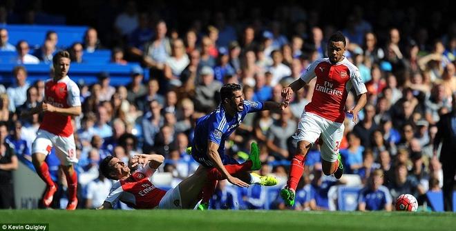 Arsenal guc nga trong tran dai chien voi Chelsea hinh anh 4
