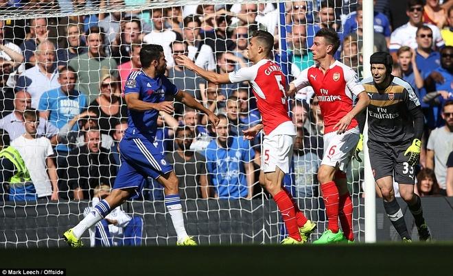Arsenal guc nga trong tran dai chien voi Chelsea hinh anh 6