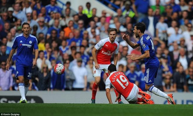 Arsenal guc nga trong tran dai chien voi Chelsea hinh anh 12