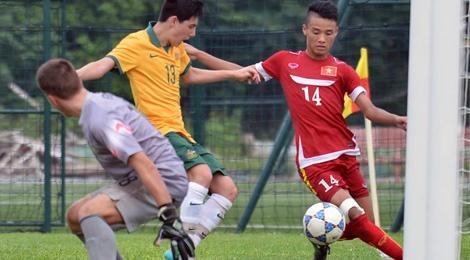 U16 Viet Nam mat ngoi dau bang sau tran thua 0-1 hinh anh