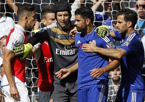 Jose Mourinho ca ngoi Diego Costa hay nhat tran gap Arsenal hinh anh