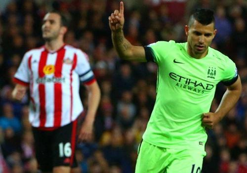 Tong hop tran dau: Sunderland 1-4 Man City hinh anh