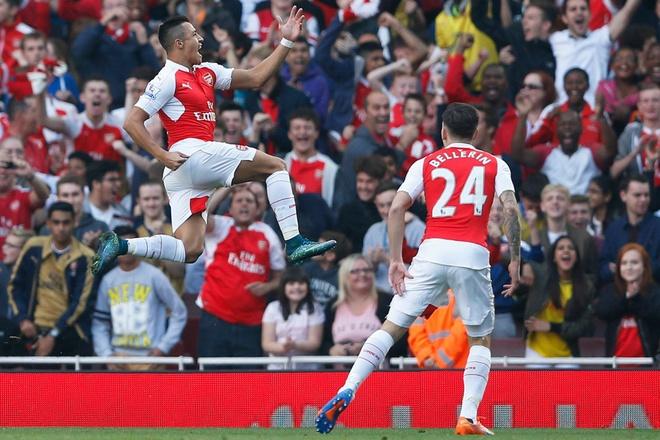 Sanchez tro lai va Arsenal hoi sinh hinh anh 1