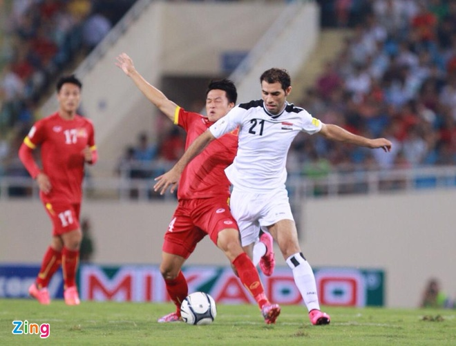 DT Viet Nam 1-1 Iraq: Danh roi chien thang phut cuoi hinh anh 16