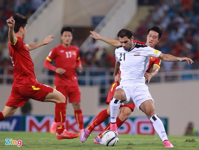 DT Viet Nam 1-1 Iraq: Danh roi chien thang phut cuoi hinh anh 17