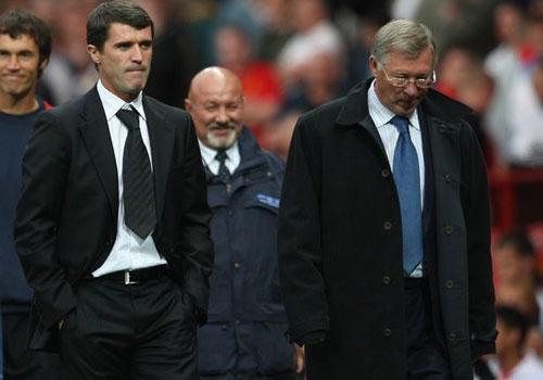 Roy Keane tu choi choi cho doi cua Sir Alex Ferguson hinh anh