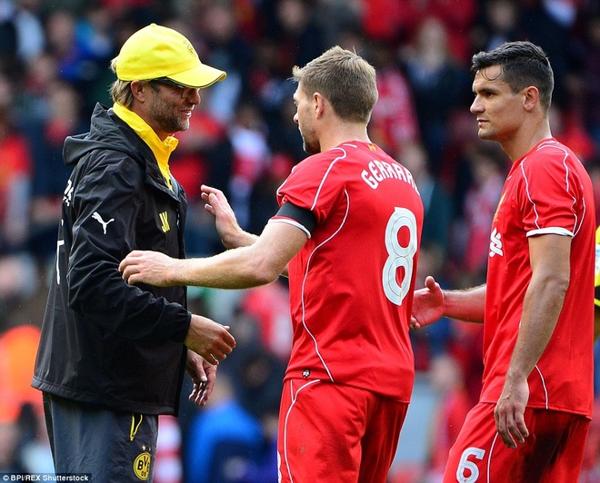 Fan Liverpool chao don Klopp nong nhiet o Anfield nam 2014 hinh anh 10