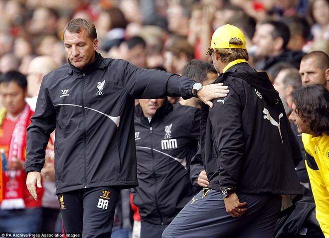 Fan Liverpool chao don Klopp nong nhiet o Anfield nam 2014 hinh anh 5