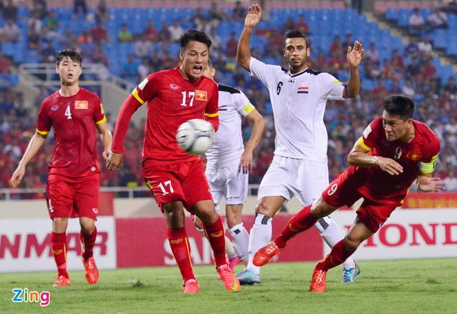 DT Viet Nam 1-1 Iraq: Danh roi chien thang phut cuoi hinh anh 22