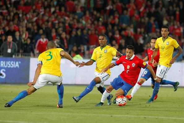 Alexis Sanchez ghi ban giup Chile thang Brazil 2-0 hinh anh 6