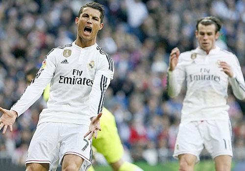 Cristiano Ronaldo co the doi dau Gareth Bale thang toi hinh anh