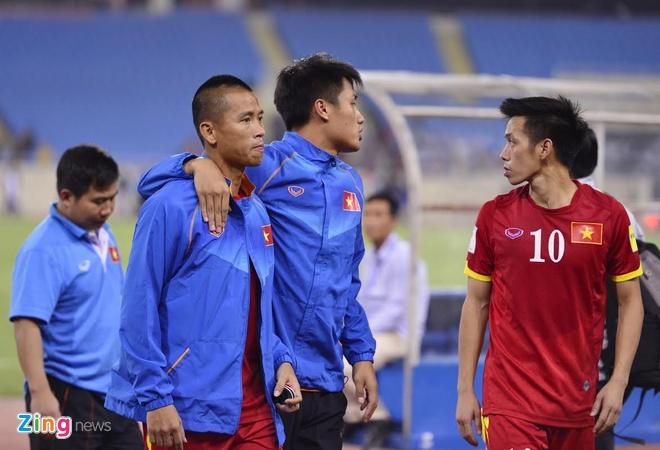 Tuyen Viet Nam buon ba sau that bai 0-3 truoc Thai Lan hinh anh 9