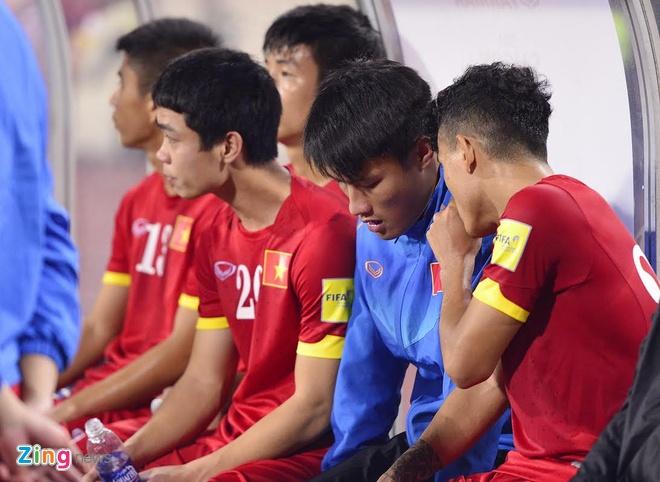 Tuyen Viet Nam buon ba sau that bai 0-3 truoc Thai Lan hinh anh 6