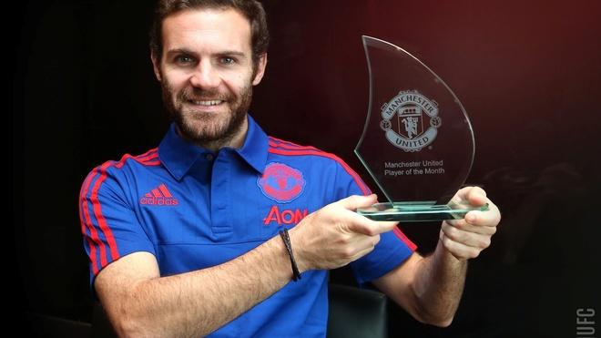 Juan Mata doat danh hieu cau thu MU hay nhat thang 9 hinh anh 1