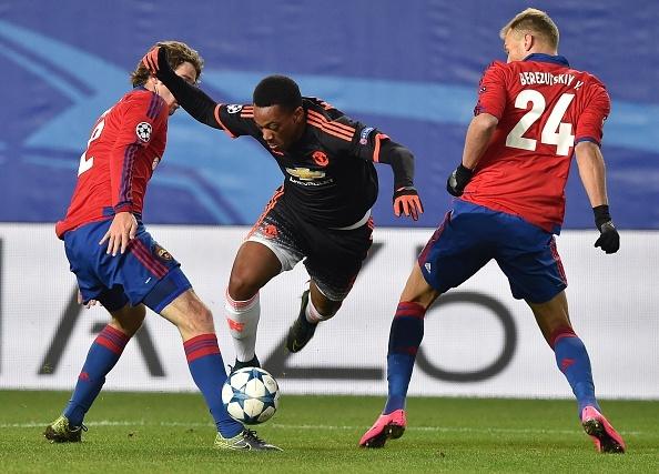 Tong hop tran dau: CSKA Moscow 1-1 MU hinh anh