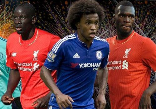Doi hinh ket hop 11 ngoi sao cua Chelsea va Liverpool hinh anh