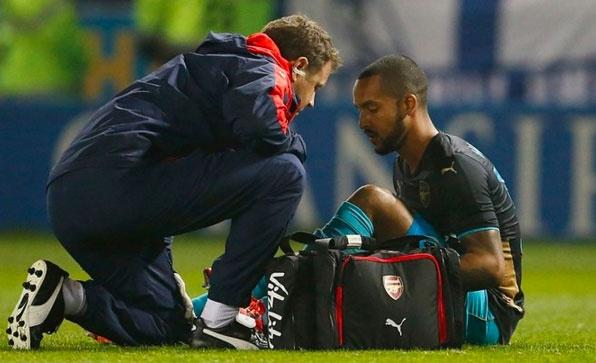 Arsenal mat 10 cau thu truoc tran gap Tottenham hinh anh 1