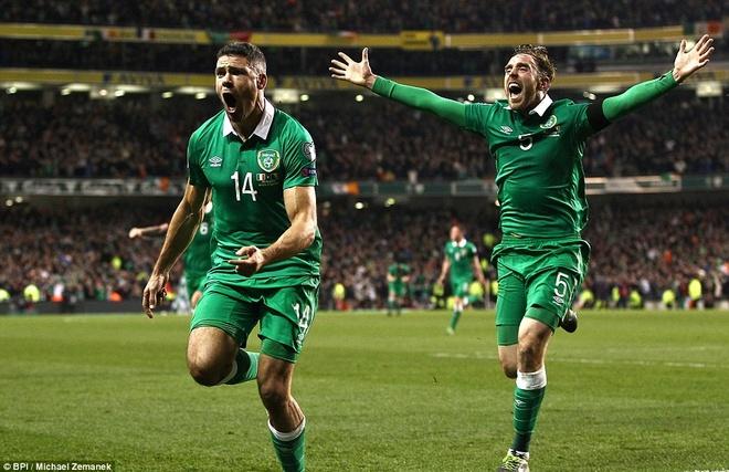 Tong hop tran dau: DT Ireland 2-0 DT Bosnia hinh anh