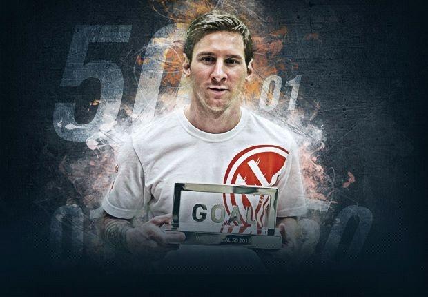Danh bai Ronaldo, Messi doat giai Goal 50 hinh anh 1