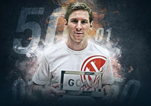 Danh bai Ronaldo, Messi doat giai Goal 50 hinh anh
