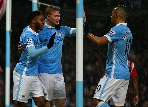 Man City 3-1 Southampton: De Bruyne toa sang hinh anh 17