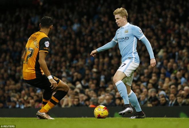 De Bruyne lap cu dup dua Man City vao ban ket League Cup hinh anh 3