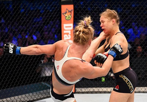 Nu hoang UFC Rousey co co hoi phuc thu Holm hinh anh