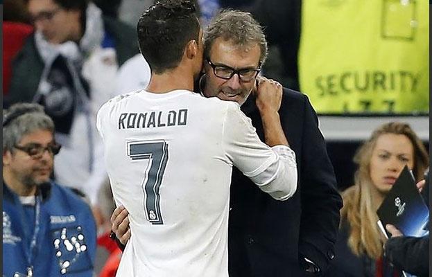 Ronaldo tiet lo noi dung cuoc noi chuyen voi Blanc hinh anh 1