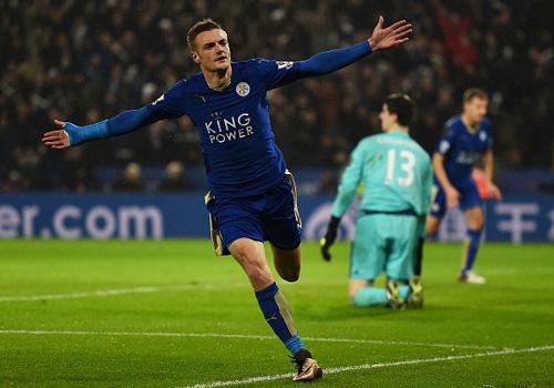 Leicester chiem ngoi dau, Chelsea thua tran thu 9 hinh anh
