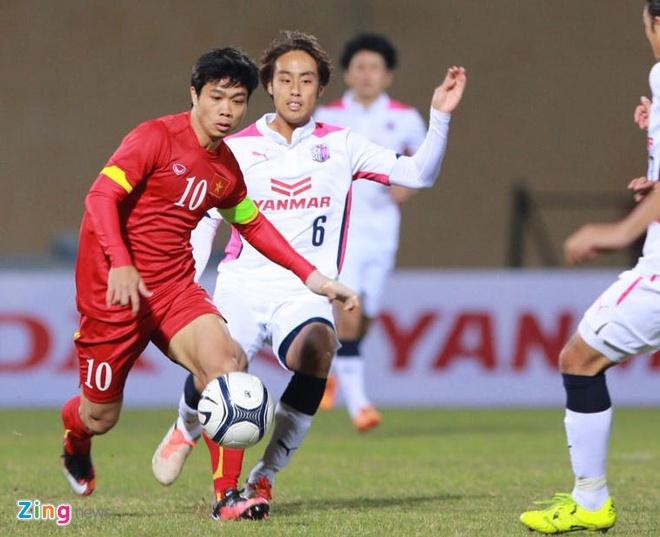 U23 VN 2-2 Cerezo Osaka: Tien dao cua HAGL ghi dau an hinh anh 9