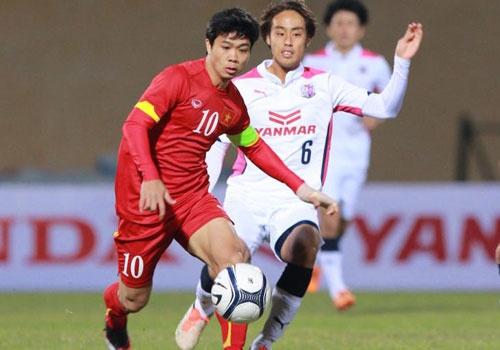 U23 VN 2-2 Cerezo Osaka: Tien dao cua HAGL ghi dau an hinh anh