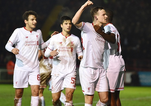 Tong hop tran dau: Exeter City 2-2 Liverpool hinh anh