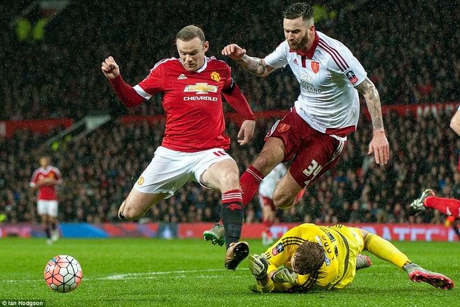 Ghi ban phut 93, Rooney giup MU thang tran tai cup FA hinh anh 5