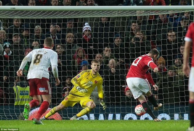 Ghi ban phut 93, Rooney giup MU thang tran tai cup FA hinh anh 8