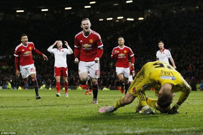 Ghi ban phut 93, Rooney giup MU thang tran tai cup FA hinh anh 9