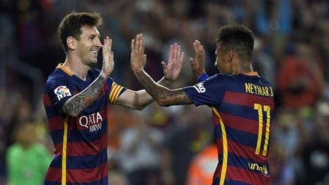 Messi gianh Qua bong vang FIFA 2015 hinh anh 4