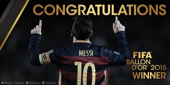 Messi gianh Qua bong vang FIFA 2015 hinh anh 21