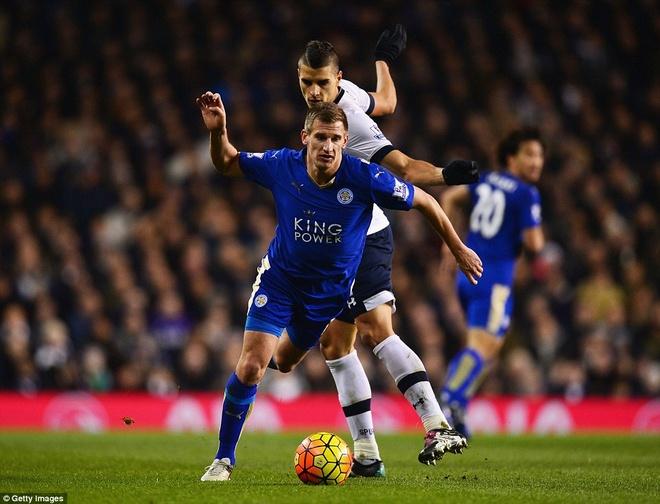 Leicester chua the tro lai ngoi dau du thang Tottenham hinh anh 1