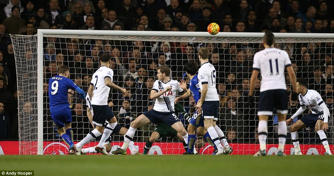 Leicester chua the tro lai ngoi dau du thang Tottenham hinh anh 3