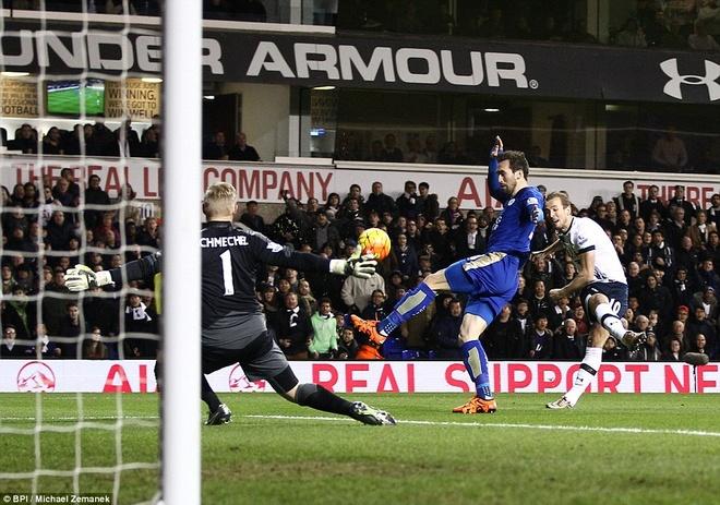 Leicester chua the tro lai ngoi dau du thang Tottenham hinh anh 5