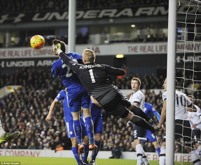 Leicester chua the tro lai ngoi dau du thang Tottenham hinh anh 6