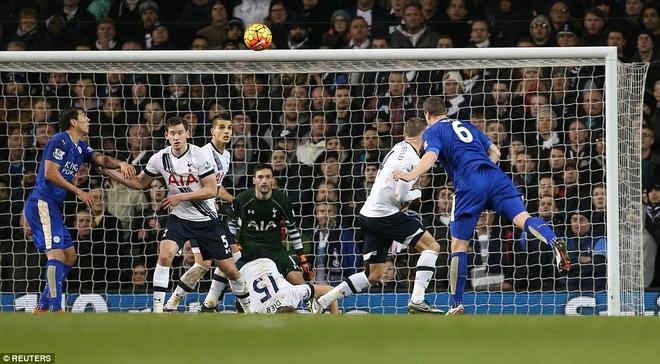 Leicester chua the tro lai ngoi dau du thang Tottenham hinh anh 7