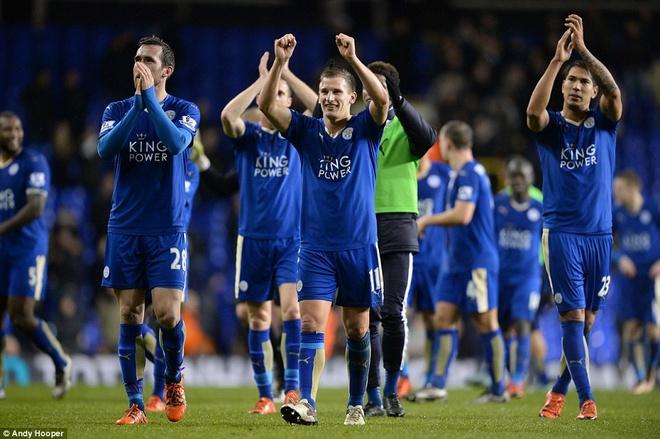 Leicester chua the tro lai ngoi dau du thang Tottenham hinh anh 9